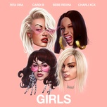 girls (martin jensen remix) (single) - rita ora, cardi b, bebe rexha, charli xcx