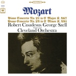 mozart: piano concerto nos. 21 & 24 (remastered) - robert casadesus, members of the cleveland orchestra, george szell