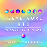 waste it on me (cheat codes remix) (single) - steve aoki, bts (bangtan boys)