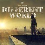 different world - alan walker