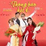 thong bao het e (vu quy dai nao ost) (single) - bui cong nam