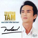 rao ban van tho say - truong tam