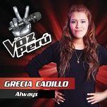 always (single) - grecia cadillo