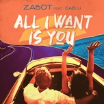 all i want is you (single) - zabot