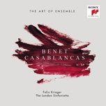 benet casablancas: the art of ensemble - benet casablancas, london sinfonietta, felix krieger