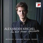 an die ferne geliebte, op. 98, transcribed for piano solo by franz liszt, s. 469/iii. leichte segler in den hohen (single) - alexander krichel