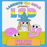 genius (lil wayne remix) (single) - lsd, lil wayne, sia, diplo, labrinth