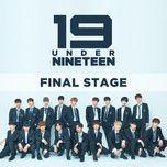 under 19 final (single) - under 19