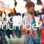 watagashi (single) - back number