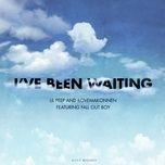 i've been waiting (single) - lil peep, ilovemakonnen, fall out boy