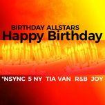 happy birthday (single) - birthday allstars