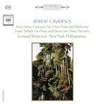 saint-saens: piano concerto no. 4 - faure: ballade & preludes 1, 3 & 5 - robert casadesus