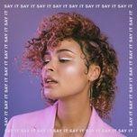 say it (single) - thandi phoenix, sigma