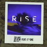 rise (single) - jonas blue, iz*one