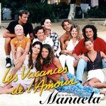 les vacances de l'amour (ep) - manuela