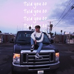told you so (single) - hrvy