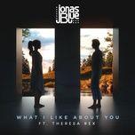 what i like about you (single) - jonas blue, theresa rex