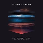 all you need to know (single) - gryffin, slander, calle lehmann