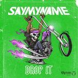 drop it (single) - say my name