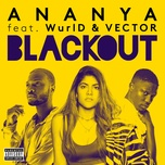 blackout (single) - ananya birla, wurld, vector