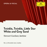 twinkle twinkle little star / white and grey sand (single) - stewart gardner