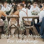 best 1990s music for weddings - v.a