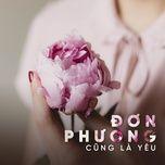 don phuong cung la yeu - v.a