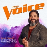 when you say nothing at all (the voice performance) (single) - dave fenley