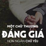 mot chu thuong dang gia hon ngan chu yeu - v.a