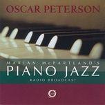 marian mcpartland's piano jazz radio broadcast - marian mcpartland