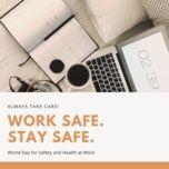 work safe. stay safe. - v.a