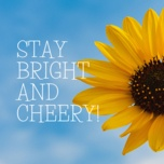 stay bright and cheery! - v.a