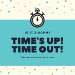 time's up! time out! - v.a