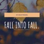 fall into fall - v.a