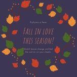 fall in love this season! - v.a