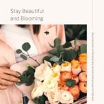 stay beautiful and blooming - v.a