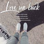 love me back - v.a
