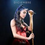 diciembre (single) - tini