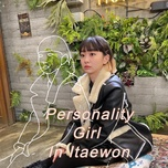 personality girl in itaewon - v.a