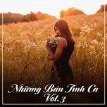 nhung ban tinh ca (vol. 3) - v.a