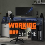working day at home - v.a