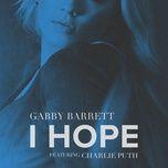 i hope (single) - gabby barrett, charlie puth