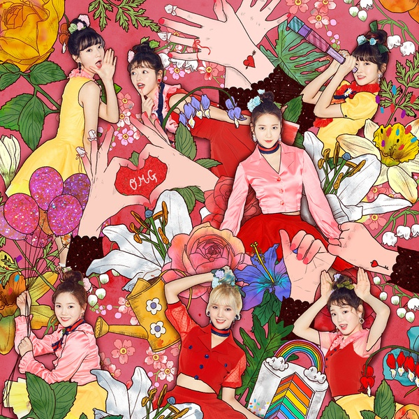 Coloring Book Loi bai hat - Oh My Girl