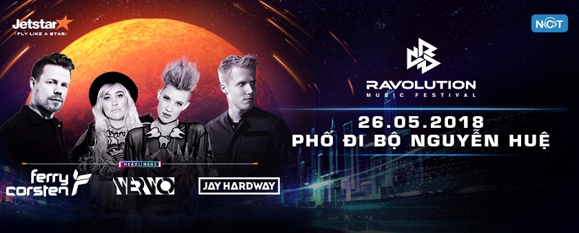 ravolution music festival 2018