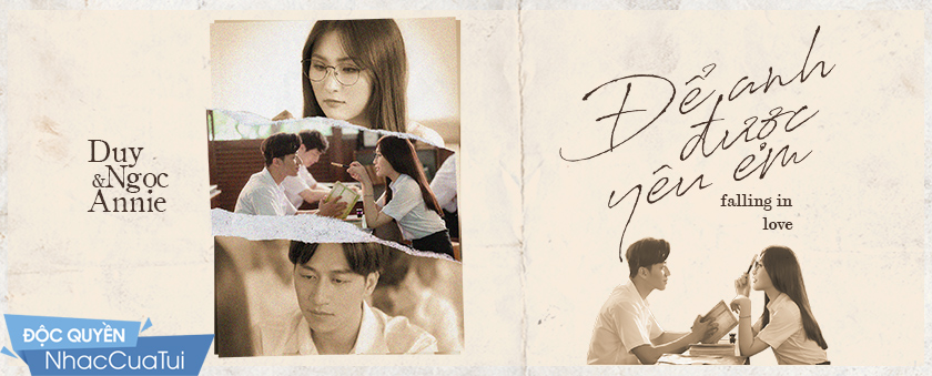 de anh duoc yeu em (falling in love) - duy ngoc, annie thu thuy