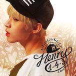 1-4-3 (i love you) (acoustic version) - henry lau