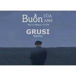 buon cua anh (grusi remix) - k-icm, dat g, masew
