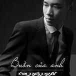 buon cua anh (b'small remix) - k-icm, dat g, masew