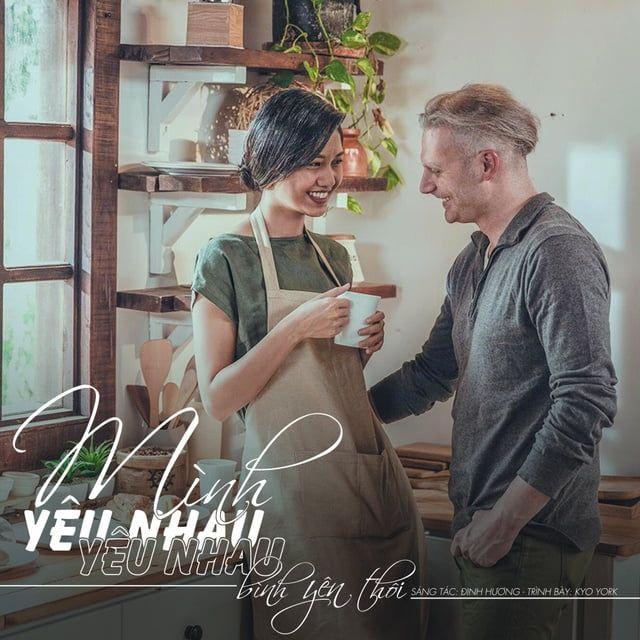 Lời bài hát Mình Yêu Nhau Yêu Nhau Bình Yên Thôi (English Version) - Kyo York ft Thanh Tú