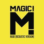 Tải bài hát Rude (Acoustic) Mp3